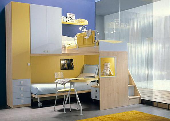 Camerette ielitro mobili for Arredamento camerette piccoli spazi